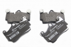 Four-piston brake pads after Brembo Cayenne, Italy