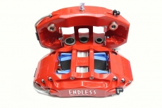 Japan ENDLESS EC670 Brake Caliper Red Six Pistons