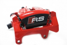 Audi RS two piston brake calipers
