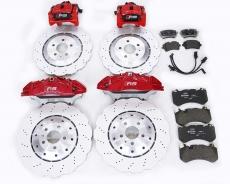 Audi RS front six rear brake kit