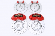 Audi RS First Six Pistons - CZV380 Torch Disc Rear Four Pistons - CZV356 Torch Plate