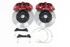 SPARTA EVOLUTION Racing Six-Piston 6P-A Red Brake Kit