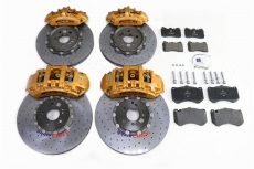 AMG Mercedes-Benz SLS first six-402 discs after four-360 discs gold ceramic disc