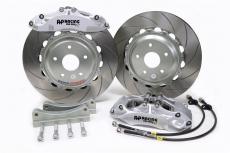 AP Racing CP9660 Silver Six-Piston Brake Kit