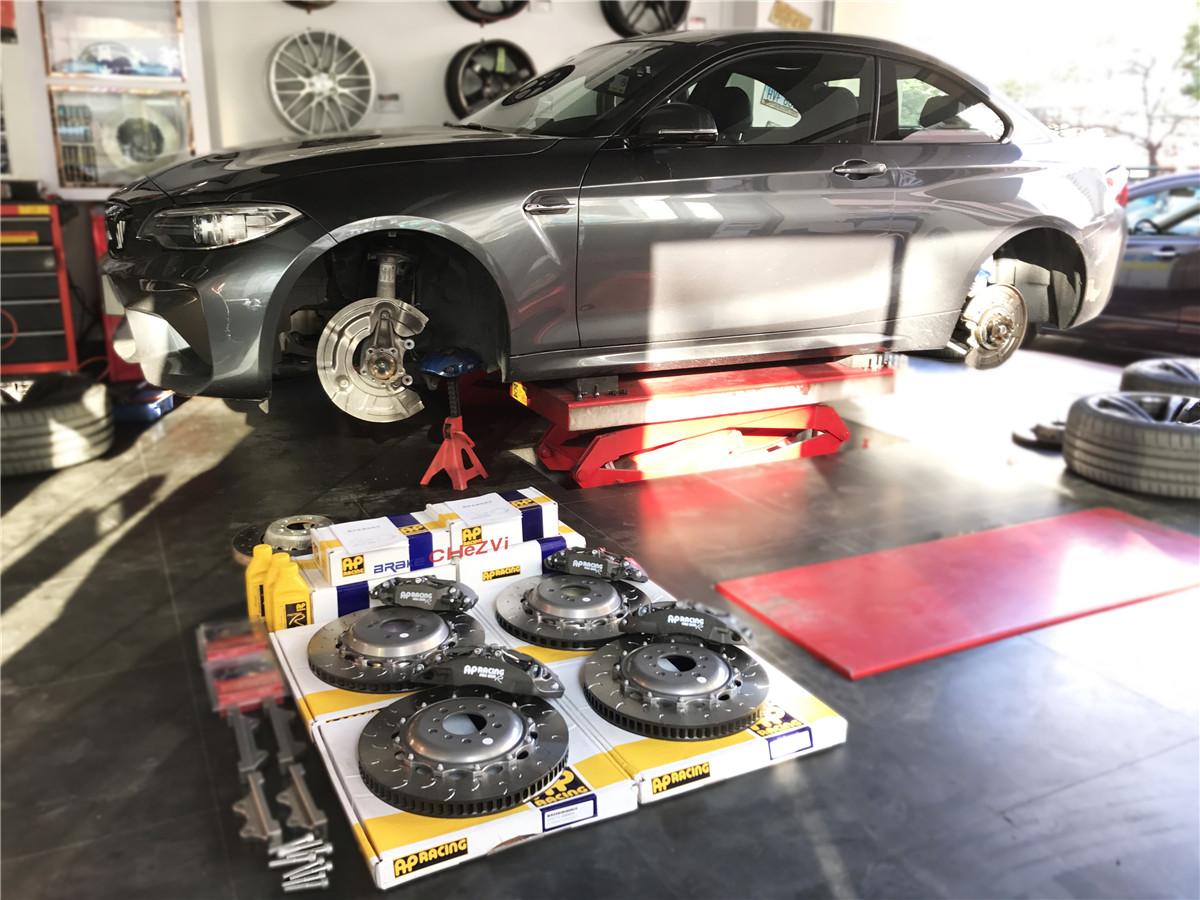 Performance Brakes   BMW M2 Modified AP Racing PRO5000R